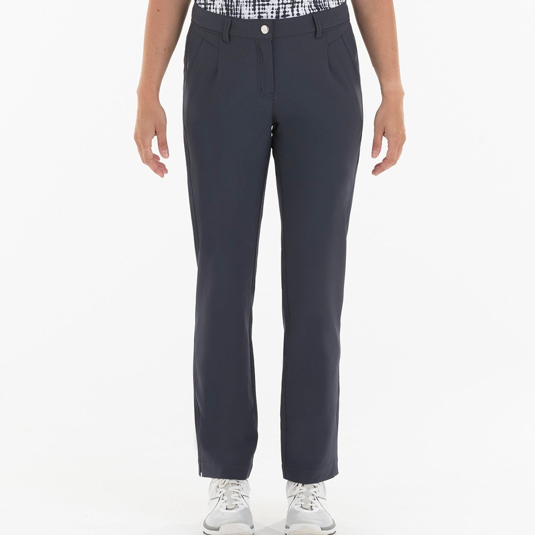 NI0210400 Nivo Marlee Women's Navy Stretch Trouser Product Image Front