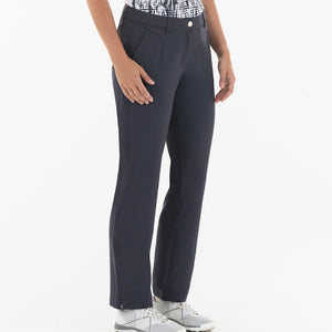 NI0210400 Nivo Marlee Women's Navy Stretch Trouser Product Image Side