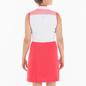 NI0210641 Nivo Brandi Ladies Sleeveless Block Colour Dress Product Image Back