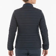 NI0210700 Nivo Korra Women's Navy Full-Zip Quilted Jacket Product Image Back