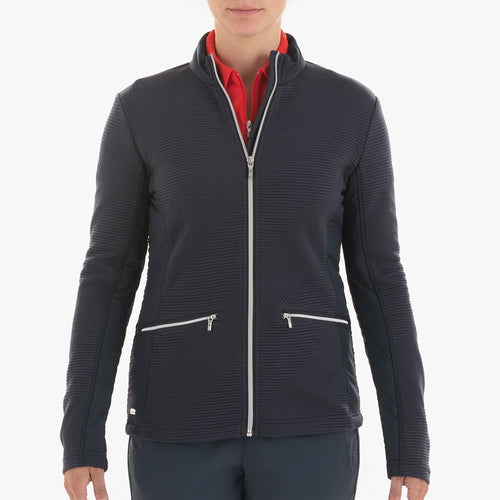 NI0210701 Nivo Kerrigan Women's Navy Full-Zip Jacket Product Image Front