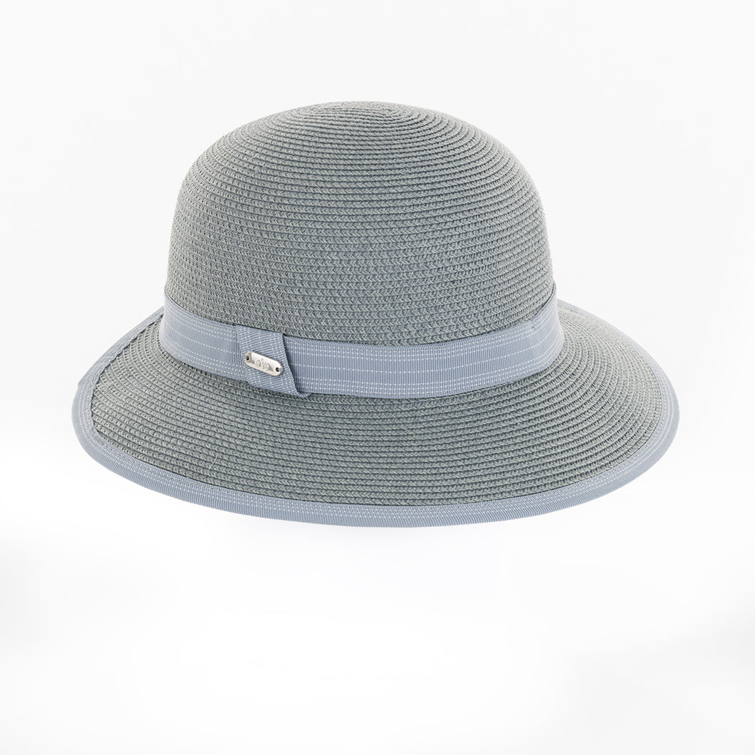 NI0210902 Nivo IBIZA Light Grey Straw Hat Product Image