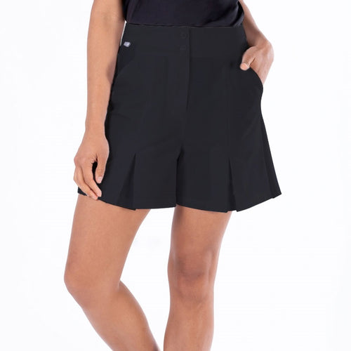 NI1211300 Nivo Dua Ladies Culotte Shorts in Black Product Image Front