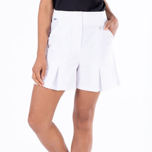 NI1211300 Nivo Dua Ladies Culotte Shorts in White Product Image Front