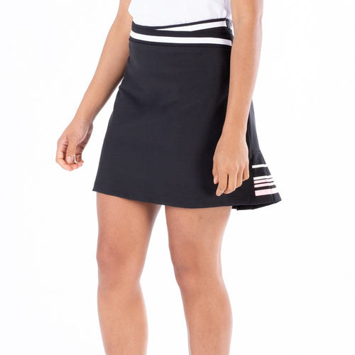 NI1211612 Nivo Diva Stretch Woven Skort in Black Product Image Side