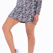 NI1211631 Ladies Nivo Lili Pull-on Floral Liv Cool Skort Product Image Front
