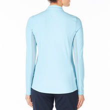 Nivo Women's Liv Cool Long Sleeve Polo Shirt Product Image Back NI7210153_401