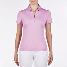 NI8210100 Nivo Women's Natasha Wild Orchid Essentials Polo Shirt Product Image Front