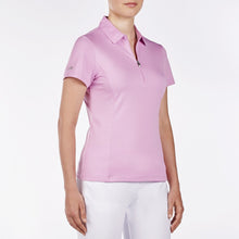 NI8210100 Nivo Women's Natasha Wild Orchid Essentials Polo Shirt Product Image Side