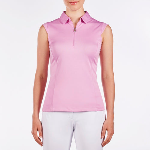 Nivo Nelly Wild Orchid Sleeveless Polo Shirt