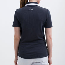 Nivo Women's 'Hayley' Polo Shirt in Navy at The Golf Outfit Model Image Back NI8210146