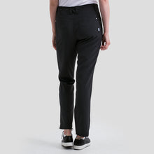 NI8210400 Nivo Women's Mabel Black Ankle Grazer Trousers Product Image Back