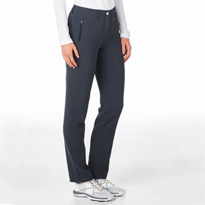 Nivo Women's Chloe Charcoal Full Length Trouser Product Image Side NI8210406