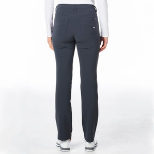 Nivo Women's Chloe Charcoal Full Length Trouser Product Image Rear NI8210406