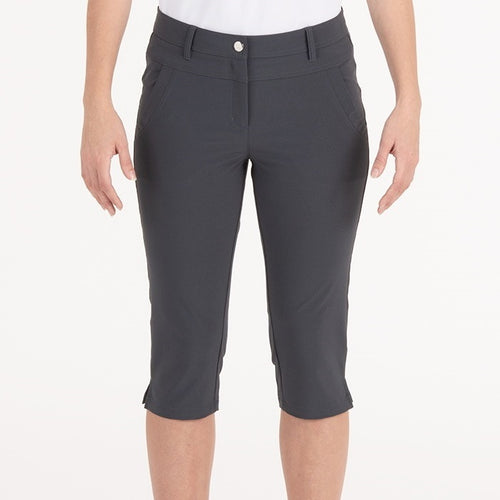 Nivo Mandy Long Shorts in Charcoal