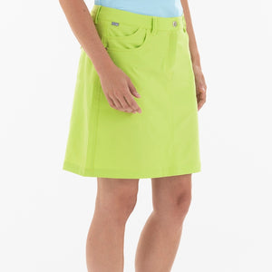 NI8210610 Mivo Marika Ladies Key Lime Golf Skort Product Image Side