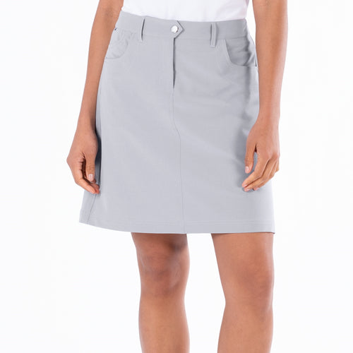Nivo Marika Light Grey 4-Way Stretch Skort