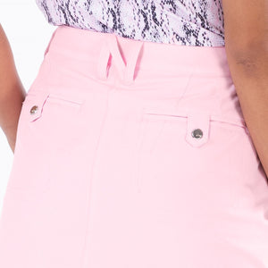 NI8210610 Nivo Marika Quiet Pink Ladies 4-way Stretch Skort Product Image Detailing