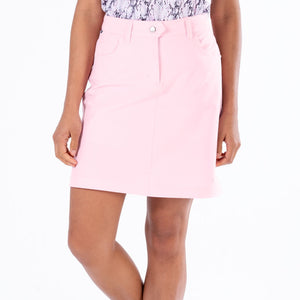 NI8210610 Nivo Marika Quiet Pink Ladies 4-way Stretch Skort Product Image Front