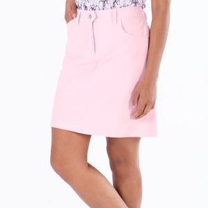 NI8210610 Nivo Marika Quiet Pink Ladies 4-way Stretch Skort Product Image Side