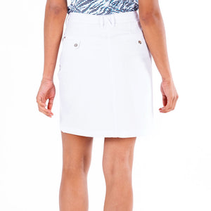 Nivo Marika White 4-Way Stretch Skort