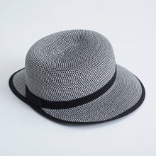 NI8210905 Nivo Iris Black Straw Hat Product Image Back