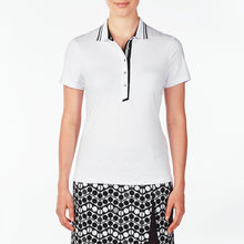 NI9210134 Nivo Women's Wesley White Polo Shirt Product Image Front