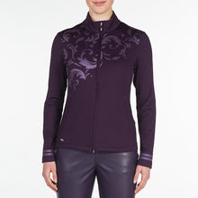 Nivo Women's Trudy Purple Plum Jacket Product Image Front NI9210183