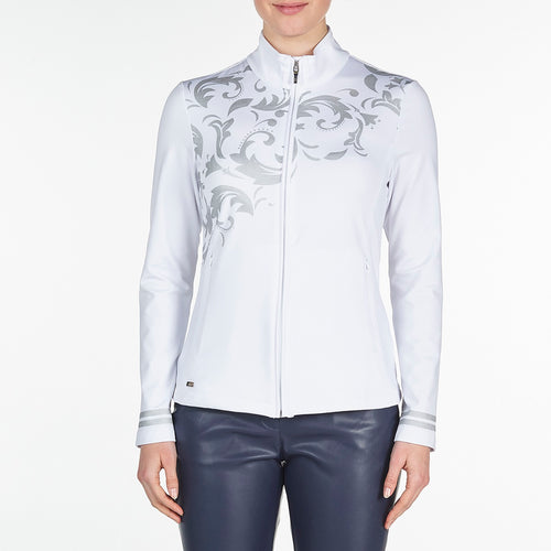 Nivo Women's Trudy White Jacket Product Image Front NI9210183