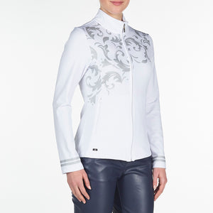 Nivo Women's Trudy White Jacket Product Image Side NI9210183