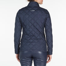 NI9210702 Nivo Ladies TOULA Navy Wind Proof Quilted Jacket Product Image Back