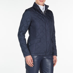 NI9210702 Nivo Ladies TOULA Navy Wind Proof Quilted Jacket Product Image Side