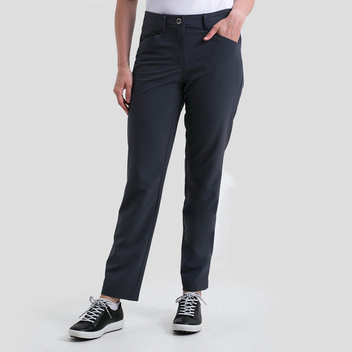 Nivo Women's Mabel Ankle Pant in Charcoal at The Golf Outfit Product Image Front NI8210400