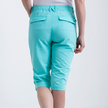 Nivo Women's Madison Bermuda Long Shorts in Angel Blue at The Golf Outfit Product Image Back NI8210410_476