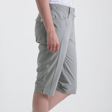 Nivo Women's Madison Bermuda Long Shorts in Light Grey at The Golf Outfit Product Image Side NI8210410_061