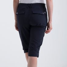 Nivo Women's Madison Bermuda Long Shorts in Navy at The Golf Outfit Product Image Back NI8210410_400