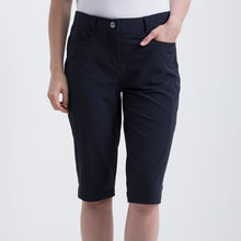 Nivo Women's Madison Bermuda Long Shorts in Navy at The Golf Outfit Product Image Front NI8210410_400