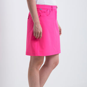 Nivo Women's Marika Energy Pink Golf Skort Product Image Side NI8210610