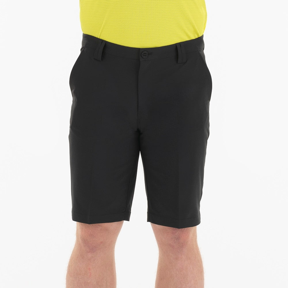 SL20300 Sligo Mens Spike Black Golf Short Product Image Front