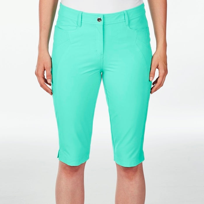 NI8210410 Nivo Women's Madison Atlantis Green Essentials Long Short Product Image Front