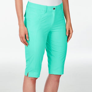 NI8210410 Nivo Women's Madison Atlantis Green Essentials Long Short Product Image Side
