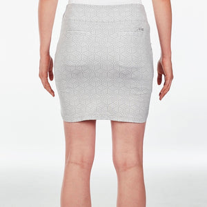 NI9210631 Nivo Women's Lyric Light Grey Liv Cool Skort Product Image Back