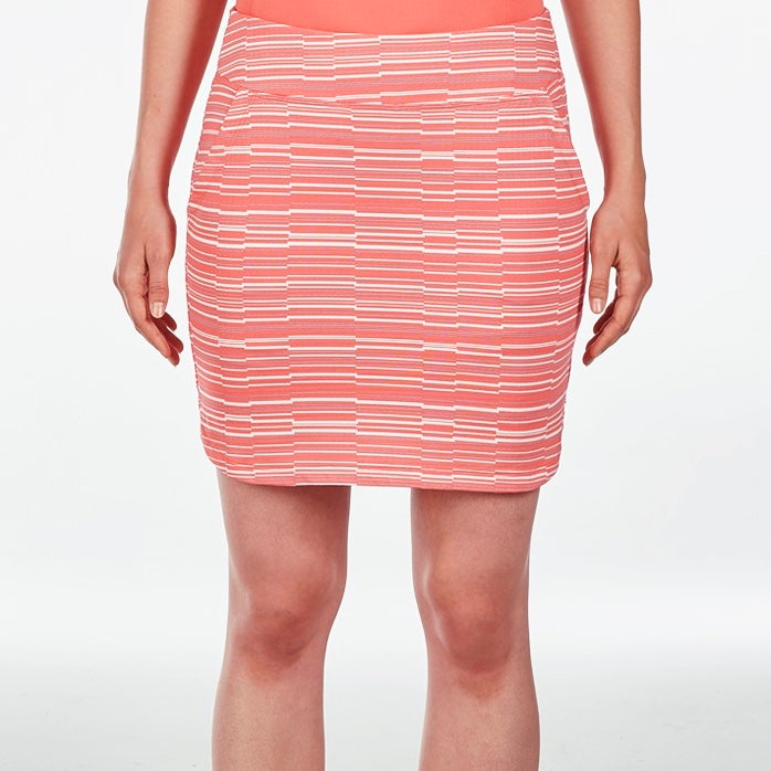 NI9210632 Nivo Women's Lynda Sunkist Coral Liv Cool Skort Product Image Front
