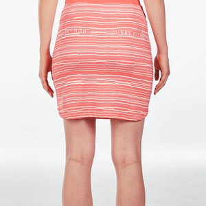 NI9210632 Nivo Women's Lynda Sunkist Coral Liv Cool Skort Product Image Back