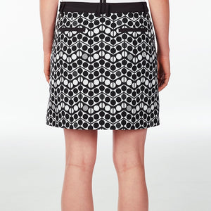 NI9210624 Nivo Women's Winnie Patterned Skort Product Image Back