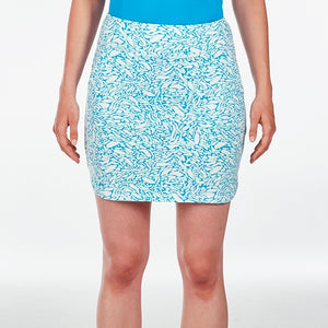 NI9210633 Nivo Women's Lottie Malibu Blue Liv Cool Skort Product Image Front