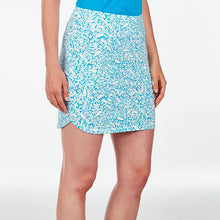 NI9210633 Nivo Women's Lottie Malibu Blue Liv Cool Skort Product Image Side