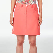 NI8210610 Nivo Women's Marika Sunkist Coral Essentials Skort Product Image Front