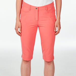 NI8210410 Nivo Women's Madison Sunkist Coral Essentials Long Short Product Image Front