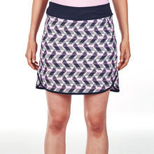NI9210620 Nivo Women's Ava Navy Patterned Skort Product Image Front